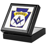 Masonic Policemans Keepsake Box