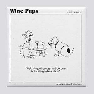 www.winecountrydogs.com Tile Coaster