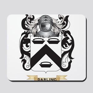 Darling Coat of Arms Mousepad