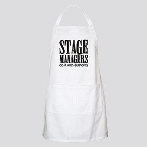 Stage Managers do it with aut BBQ Apron