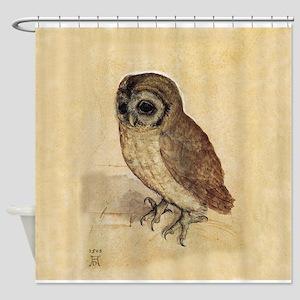 Owl by Durer Shower Curtain
