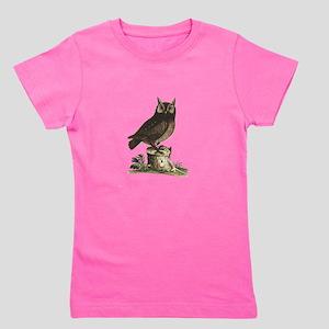 A Little Owl Girl's Tee