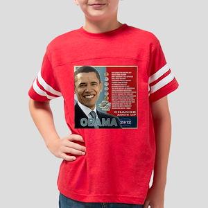 obama-shirt Youth Football Shirt