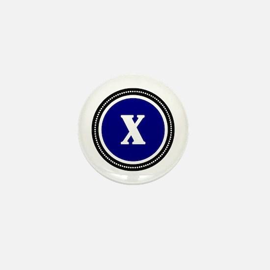 Blue Mini Button