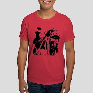 Native American Chief Art Dark T-Shirt
