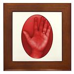 Left Hand  Framed Tile