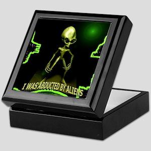 Alien Abduction Keepsake Box