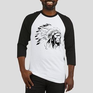 Native American Chieftain Baseball Jersey