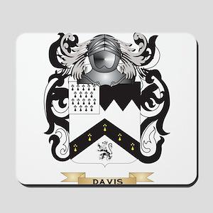 Davis Coat of Arms Mousepad
