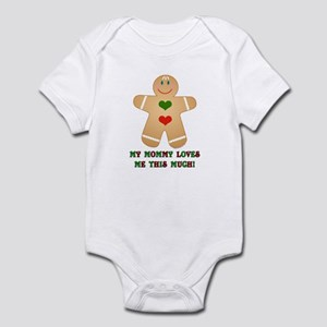 My mommy loves me Infant Bodysuit