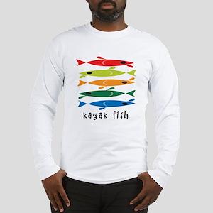 Kayak Fish Long Sleeve T-Shirt