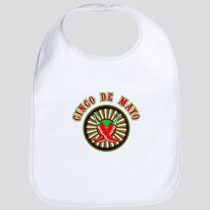 Cinco de mayo w pepper seal Bib