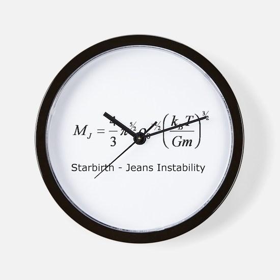 Starbirth Wall Clock