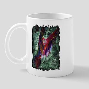 Parrot in Flight Mug
