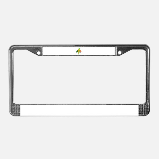 two peppers one yellow License Plate Frame