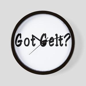 Got Gelt? Wall Clock