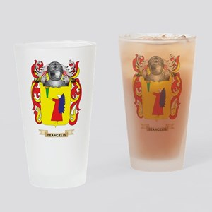 De Belli Coat of Arms Drinking Glass