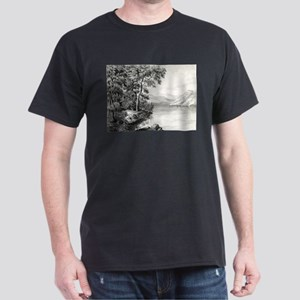 View on Lake George NY - 1866 T-Shirt