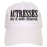 Actresses do it with drama Cap