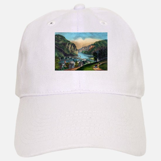 View of Harpers Ferry, Va. - 1907 Baseball Baseball Baseball Cap