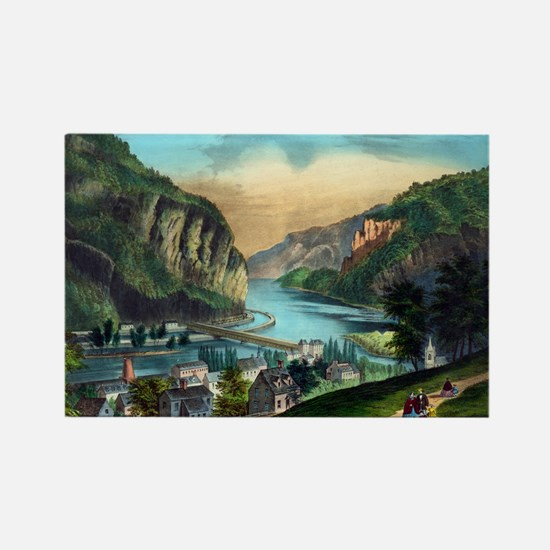 View of Harpers Ferry, Va. - 1907 Magnets