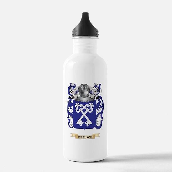 De Carli Coat of Arms Water Bottle