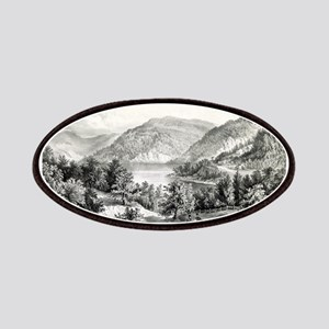 View on the Potomac - Near Harper's Ferry - 1866 P