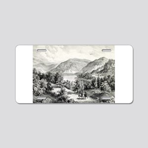 View on the Potomac - Near Harper's Ferry - 1866 A