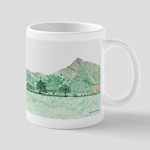 The Lawley, Shropshire Small Mug
