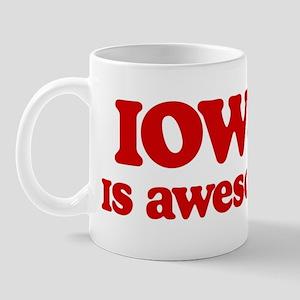 Iowa is Awesome Mug
