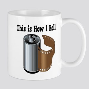 How I Roll (Camera Film) Mug