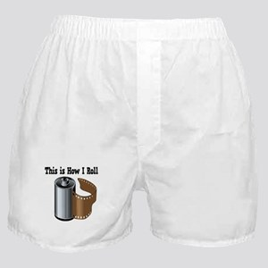 How I Roll (Camera Film) Boxer Shorts