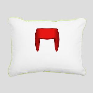 Boxing Adventurer Rectangular Canvas Pillow