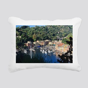 Portofino Rectangular Canvas Pillow