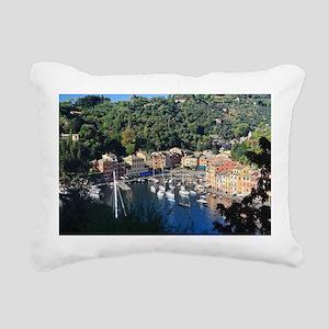 Portofino Rectangular Canvas Pillow