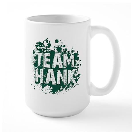 Team Hank Large Mug