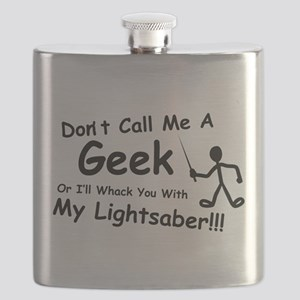 Dont Call Me a Geek Flask