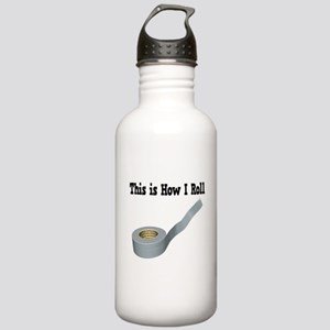 How I Roll (Duct Tape) Stainless Water Bottle 1.0L