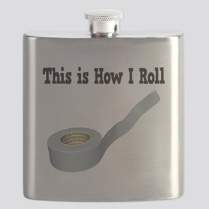 How I Roll (Duct Tape) Flask