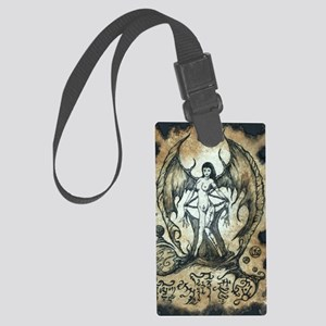 Succubus Large Luggage Tag