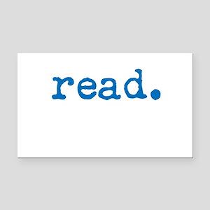 Read. Rectangle Car Magnet