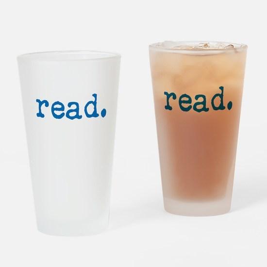 Read. Drinking Glass