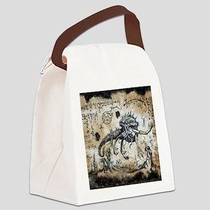 Spawn of Dagon Canvas Lunch Bag