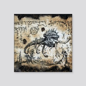 "Spawn of Dagon Square Sticker 3"" x 3"""