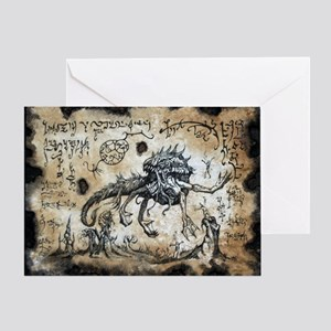 Spawn of Dagon Greeting Card