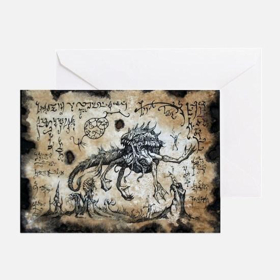 Spawn of Dagon Greeting Card