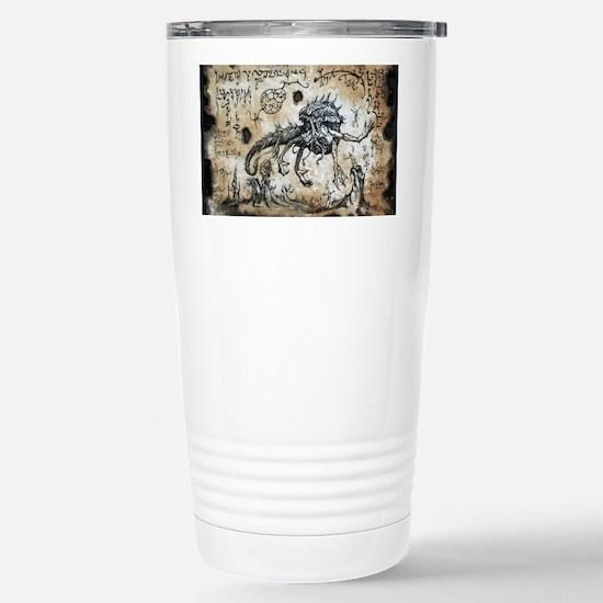 Spawn of Dagon Stainless Steel Travel Mug