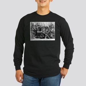 Old Swiss Mill - Puzzle Picture - 1872 Long Sleeve