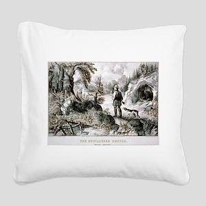 The bewildered hunter - Puzzle picture - 1872 Squa