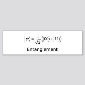 Entanglement Bumper Sticker